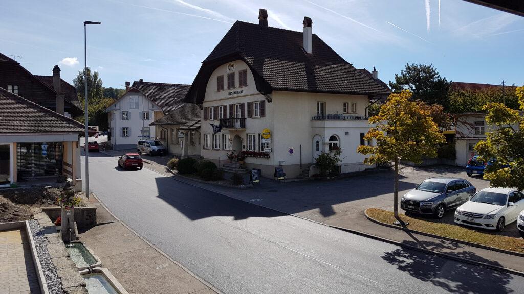 Referenz Fernwärme_Courgevaux, Nahwärmeverbund Gemeinde