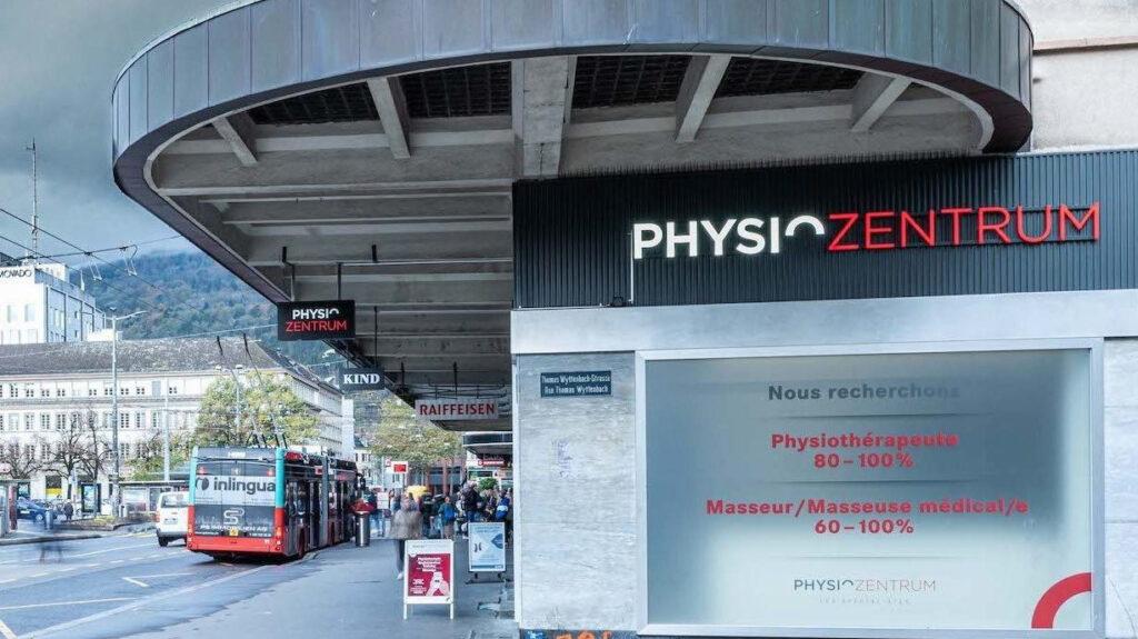 Referenz Gesundheitswesen_Physiozentrum Biel