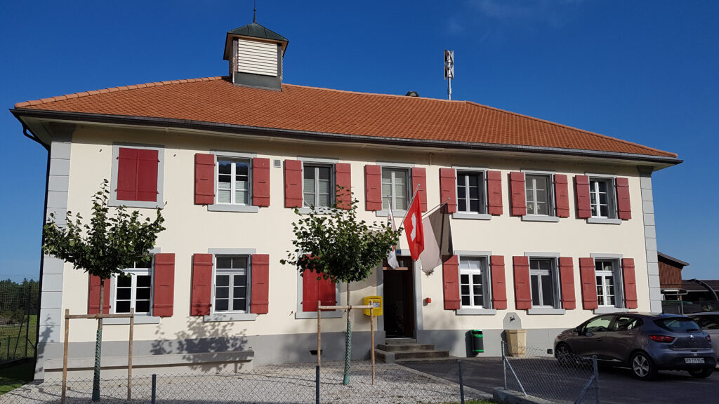 Referenz Oeffentliche Bauten_Courlevon, Altes Schulhaus