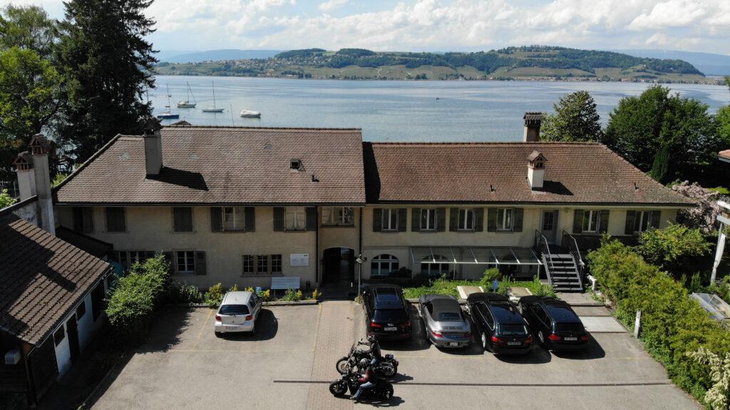 Referenz Wohnbauten_Murten, Umbau Restaurant des Bains