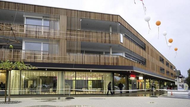 Referenz Wohnbauten_Schmitten, Überbauung Dorfmatte