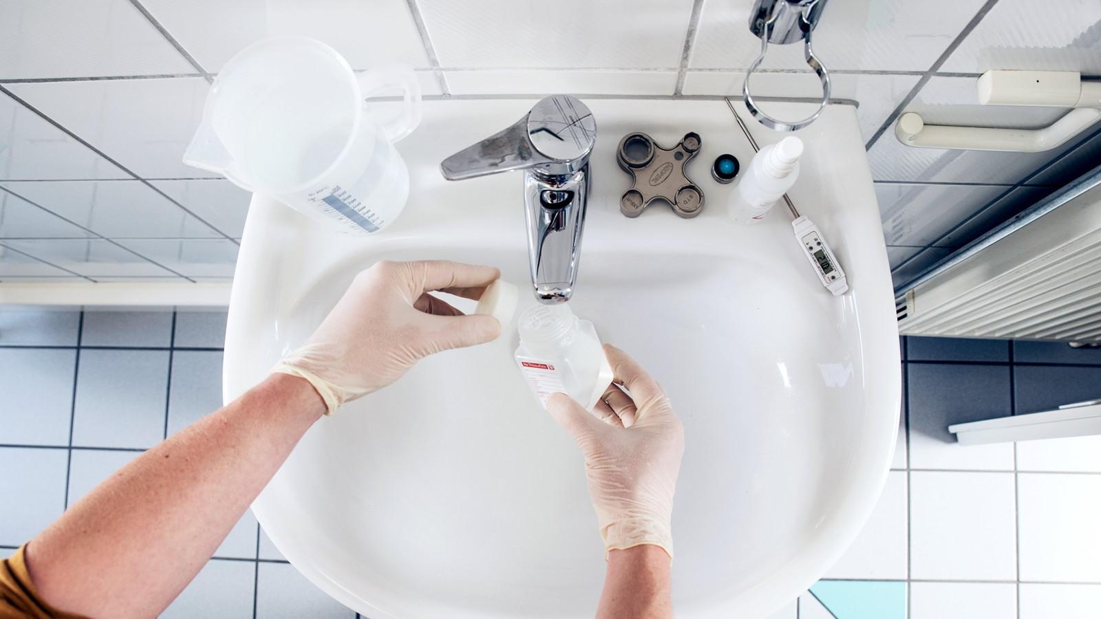 20200820_Legionellen Probenahme Duschwasser Trinkwasser